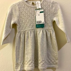 H&M sweater dress for baby